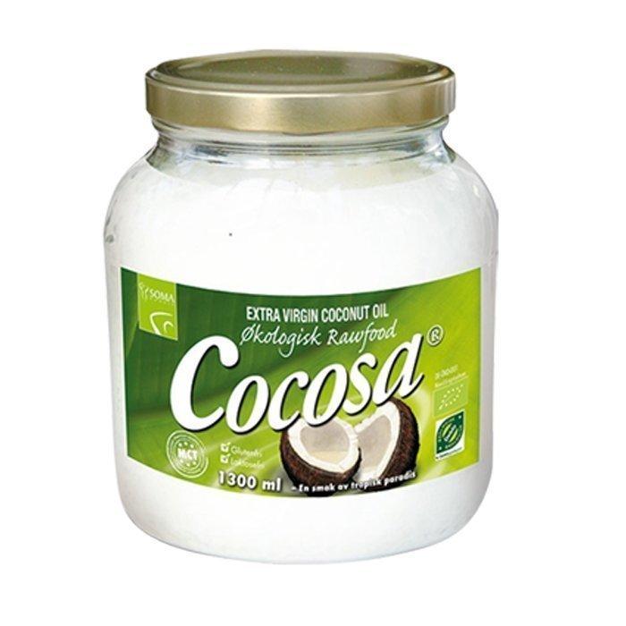 Soma Cocosa Extra Virgin kookosöljy 1300 ml
