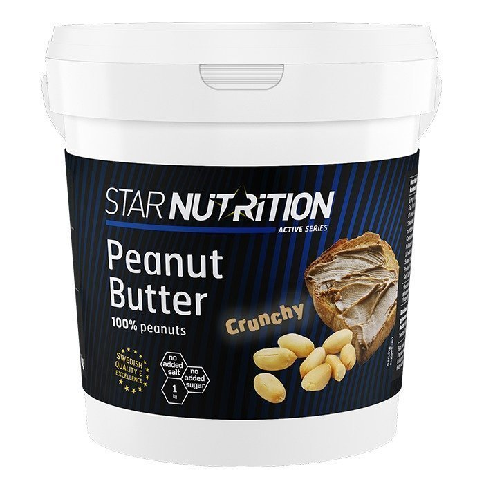 Star Nutrition Peanut Butter 1 kg Smooth