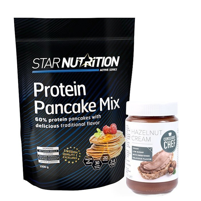 Star Nutrition Protein pancake-kit!