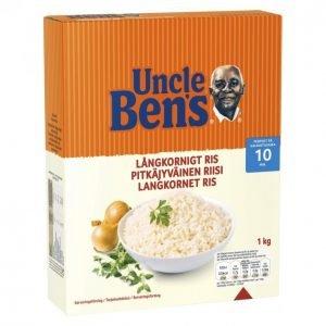 Uncle Bens Pitkäjyväinen Riisi 1kg