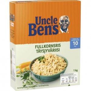 Uncle Bens Täysjyväriisi 1kg