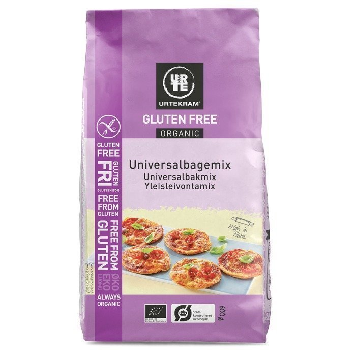 Urtekram Gluteeniton Yleisleivontamix Luomu 600 g