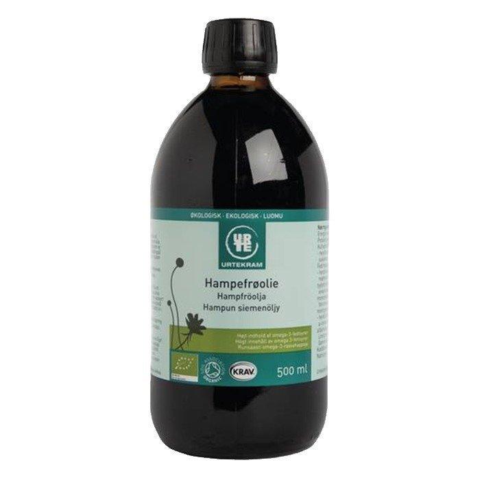 Urtekram Hampunsiemenöljy 500 ml