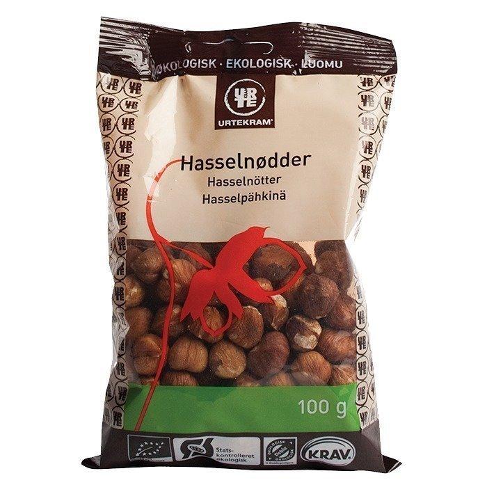 Urtekram Hasselpähkinä Luomu 100 g