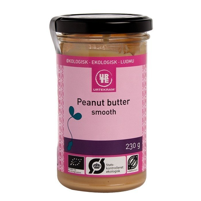 Urtekram Peanut butter smooth 230 g