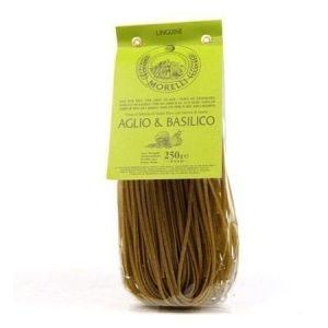 Valkosipuli-basilikaspaghetti
