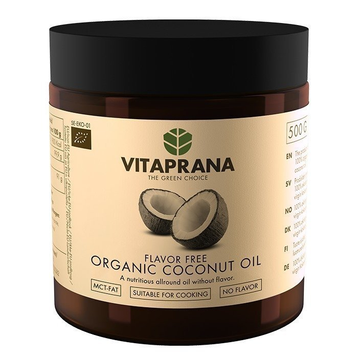 Vitaprana Flavor Free Organic Coconut Oil 500 ml
