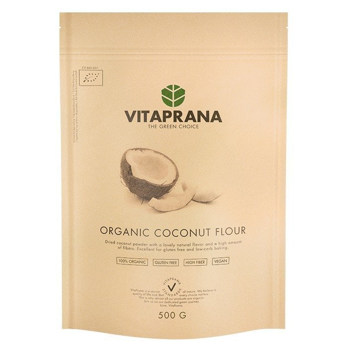Vitaprana Organic Coconut Flour 500 g